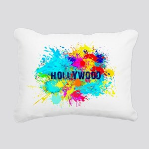 HOLLYWOOD BURST Rectangular Canvas Pillow